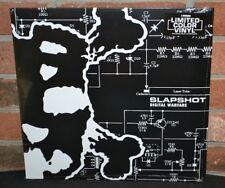 SLAPSHOT - Digital Warfare LP, Limited/100 CLEAR COLORED VINYL NEW + Download