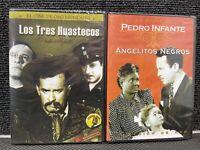 Pedro Infante  Los Tres Huastecos y angelitos negros  2 peliculas nuevas