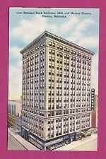 NEBRASKA - OMAHA, CITY NATIONAL BANK BUILDING POSTCARD 2847
