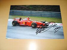 Eddie Irvine Genuine Autograph - UACC / AFTAL.