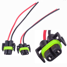 2x H11 H8 Headlight/Fog Light Female Adapter Harness Socket Wire Cord Connector