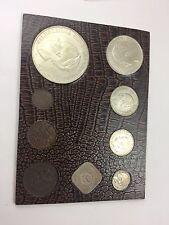 Set Of 9 Old Netherlands Gulden Silver Coins, 1929-1931
