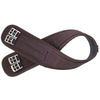 EquiRoyal Air Flow Nyloprene English Girth Waffle Weave Back with Nylon Web Top