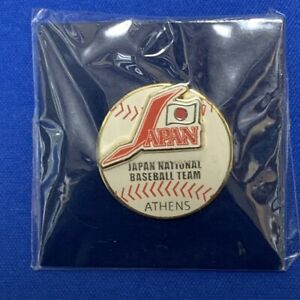 Olympic 2004 Athens Pin badge /PINS /pin Japan National Baseball Team