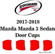 3M Scotchgard Paint Protection Film Clear Bra 2017 2018 Mazda Mazda 3 Sedan