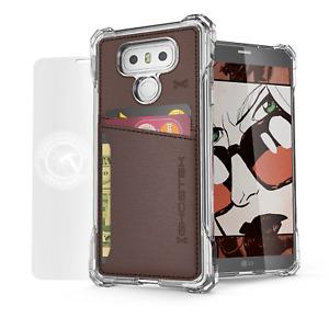 For LG G6 Case   Ghostek EXEC Leather Card Holder Pocket Shockproof Wallet Cover
