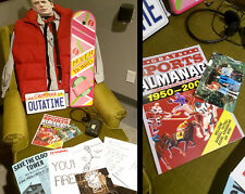 Marty Mcfly Halloween Costume Small Hoverboard Sports Almanac BTTF Cosplay Shirt