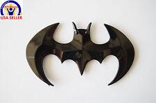 BATMAN 3D DC Universe for Laptop, Car Badge Emblem, etc - Glossy Black