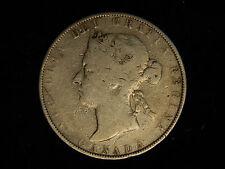1881-H Canada 50 Cents - Silver - Victoria