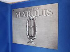 1977 FORD MERCURY MARQUIS SALES BROCHURE PILLARED HARDTOP BROUGHAM OPTIONS SPECS