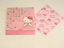DAISO JAPAN HELLO KITTY OIL BLOTTING PAPER D 50sheets MADE IN JAPAN