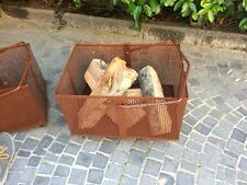 Cesta porta legna e pellet per Montacarichi cm 41x60x65H - IN ITALIA