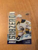 2017-18 Upper Deck Ice - Jack Eichel - 2015-16 Subzero Rookie Retro UD