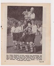 Player Pic from 1947-48 FOOTBALL Annual - CHARLTON ATHLETIC - Welsh with FA cup