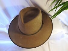 Akubra cattleman hat size 59 pure felt in as new condition