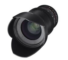 Samyang 35mm T1.5 AS UMC Cine VDSLR II  Wide Angle Lens for Canon EF