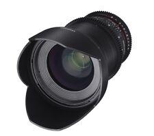 Samyang 35mm T1.5 AS UMC Cine VDSLR II  Wide Angle Lens for Canon EF