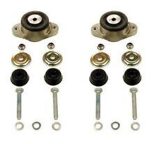For Mercedes W126 300SDL Set of 2 Engine Mount Damper Bushing Kit 1262400017