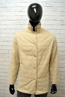 Giubbotto Giacca Uomo BURBERRY LONDON Taglia Size 44 Giubbino Jacket Man Beige