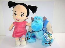 "Disney Pixar Monsters Inc Blanda Juguete Set 12"" Boo & 8"" Sully"
