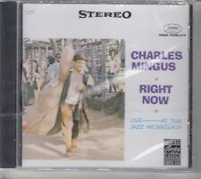 Charles Mingus/Right Now: Live at the Jazz Workshop (NOUVEAU! neuf dans sa boîte)