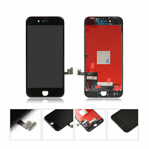 """For iPhone 7 LCD Screen Replacement Touch Display Assembly Digitizer 4.7"""" Black"""
