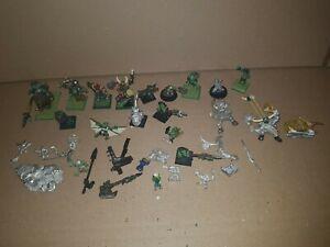 Warhammer Fantasy Orks und Goblins Metall Konvolut