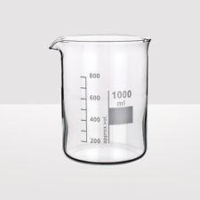 Borosilicate High Temperature Lab Glass Beaker, Low Form, 2000ml