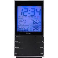 Technoline WS 9120 Schwarz Wetterstation Hygrometer Wetterprognose Weckfunktion