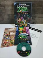 The Legend of Zelda Four Swords Adventures Gamecube Complete disc is Minty.