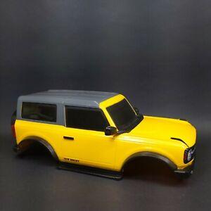 2021 Bronco Body Yellow New Bright R/C LED Lights Bronco 1:10 Scale RC 1/10