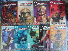 GI Joe: Frontline lot #1, 2, 4, 7-9 Image Comics Cobra, Scarlett, Dreadlocks+++