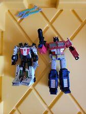 Transformers Netflix Lot #1 Optimus Prime And Wheeljack
