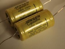 2 Jensen 0.1uf/630V copper oil capacitors for KT88 EL34 6L6 el84 tube amplifier