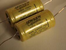 2 Jensen 0.1uf/630V copper oil capacitors for KT88 EL34 6L6 el84 tube amplifier