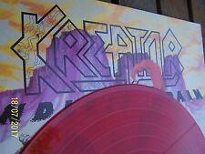 "kREATOR "" Endless Pain "" LP red Vinyl orig. Inner v.1985 Trash Metal top rar"