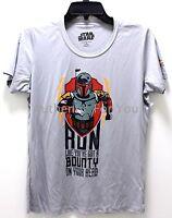 NEW Disney RunDisney Star Wars Boba Fett Bounty Women Tee Shirt ALL SIZES XS-XXL