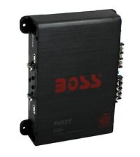 New BOSS AUDIO Riot R1004 400 Watt 4 Channel Car Power Amplifier Amp Mosfet