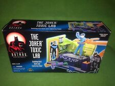 Joker Toxic Lab Kenner Batman Animated Series Adventures Action Figure Playset