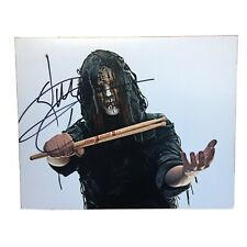 More details for joey jordison  hand signed autograph on 8x10 photo ip slipknot murderdolls