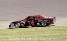 1987 DAYTONA 400 8x10 NASCAR PHOTO #14 A. J. FOYT GILMORE COPENHAGEN OLDSMOBILE
