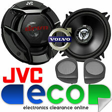 Volvo S40 1996 - 2000 JVC 13cm 520W 2 Way Front Door Car Speakers & Brackets