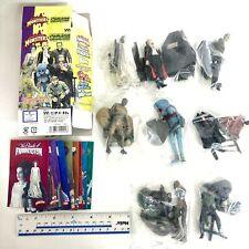 Universal Studios Monsters Mini Figure Collection Full Color ver. 8pcs Set 2001