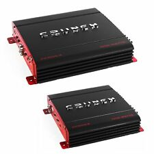 Crunch 4 Channel and 2 channel 1000 Watt Amp A/B Class Car Stereo Amplifiers