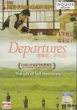 Departures DVD (2008) Japanese Movie English Sub _ Region 0 , Masahiro Motoki