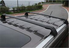 US Stock fits for Mitsubishi Outlander 2013-2018 black roof rack rail cross bar