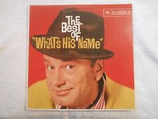 """JACK PAAR """"The Best of What's His Name""""; 1959 LP Vinyl Record; Ramrod R8001"""