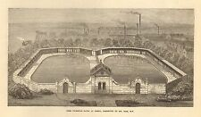 1873 DERBY FREE SWIMMING BATHS PRESENTED BY MR BASS MP