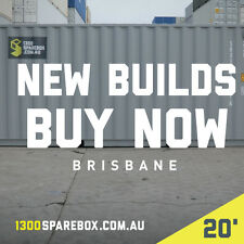 20FT SHIPPING CONTAINERS FOR SALE - QUALITY NEW BUILDS - Brisbane
