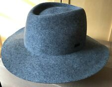KANGOL Barclay Trilby Hat - 100% Wool, Medium, Flannel Grey